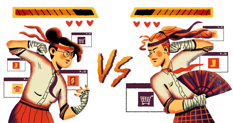 Война за клиента: интернет-магазины. Исследование Callibri