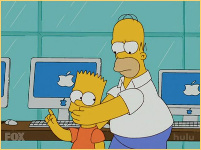 Product Placement в мультсериале Симпсоны