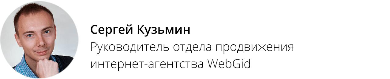 Сергей Кузьмин, WebGid
