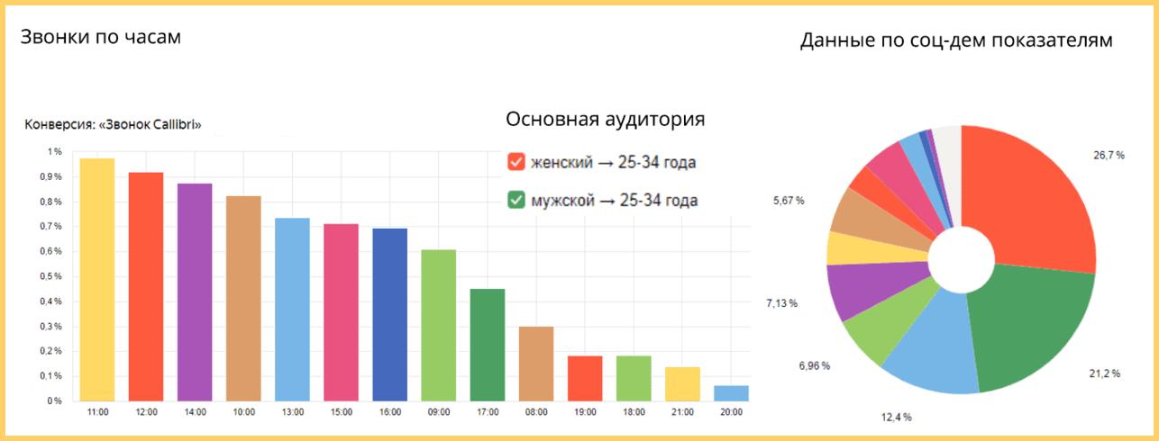 Анализ аудитории сайта застройщика
