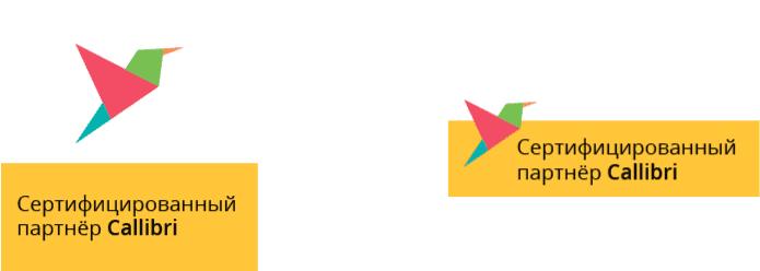 Иконки для сертифицированного партнера Callibri