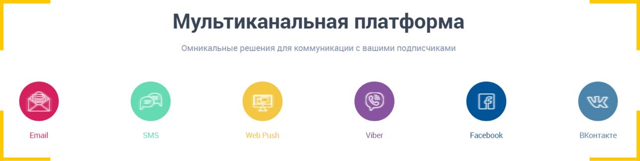 платформа, объединяющая мессенджеры и другие основные виды каналов коммуникации