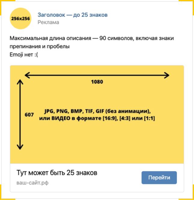 Реклама сайта в вк