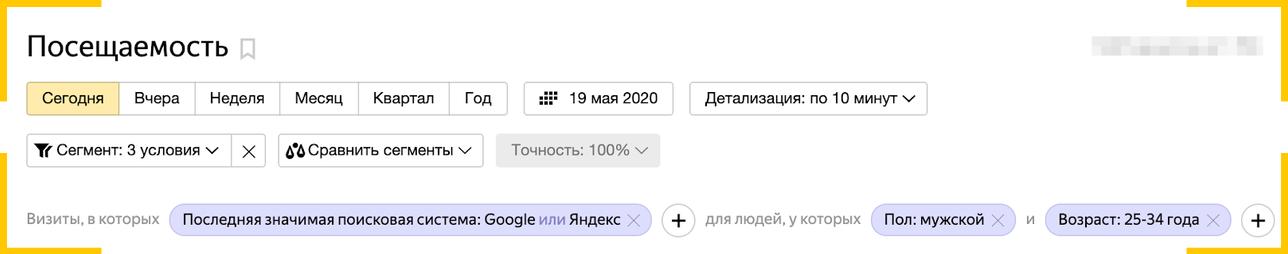 Ретаргетинг в Яндекс.Директ можно настроить с помощью Яндекс.Метрики