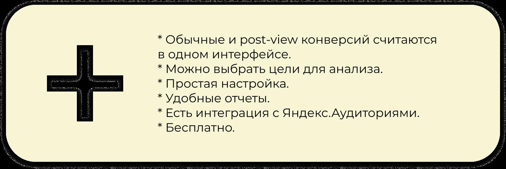 Плюсы сервиса Яндекс.Метрика для медийной рекламы