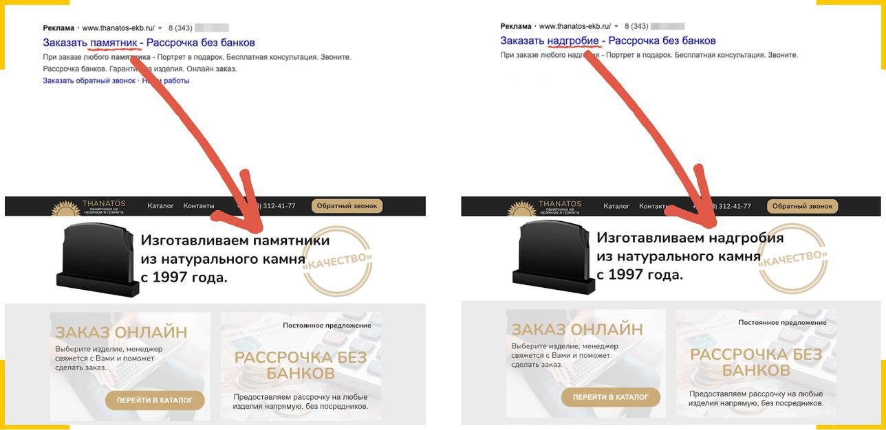 Подмена контента на сайте интернет магазина поможет показывать персональное предложение каждому клиенту